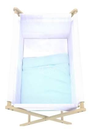 Комплект детского постельного белья Polini Голубой
