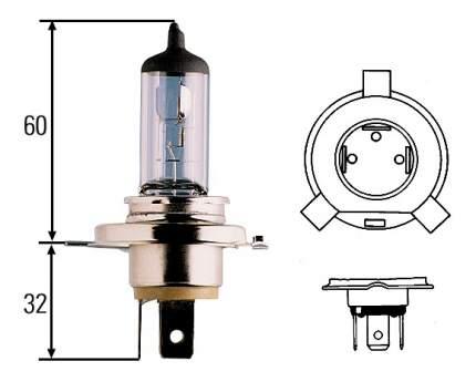 Лампа галогенная Hella 75W P43t-38 8GJ 002 525-251