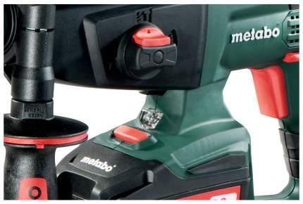 Аккумуляторный перфоратор Metabo KHA18LTX 2х5,2Ач600210650