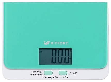 Весы кухонные Kitfort КТ-803-1 Зеленый