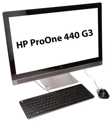 Моноблок HP ProOne 440 G3 1QL99ES Серый