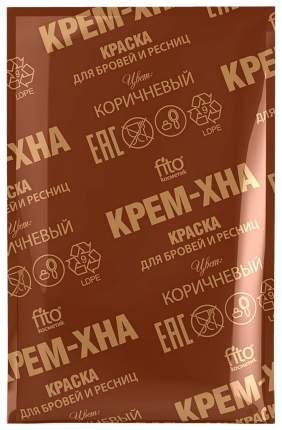 Крем-хна для бровей Фитокосметик Крем-хна коричневый 2 мл