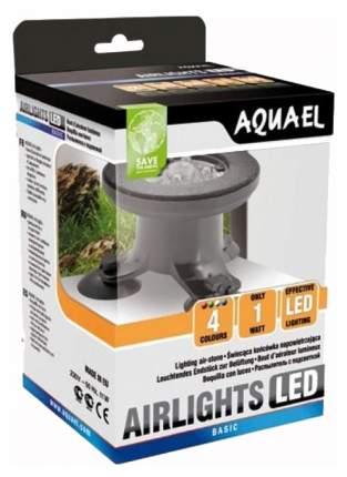Распылитель для аквариума Aquael Air Lights цилиндрический, с подсветкой, пластик