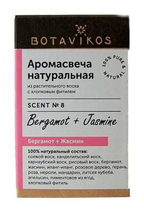 Ароматическая свеча Botanika Бергамот, жасмин 9166