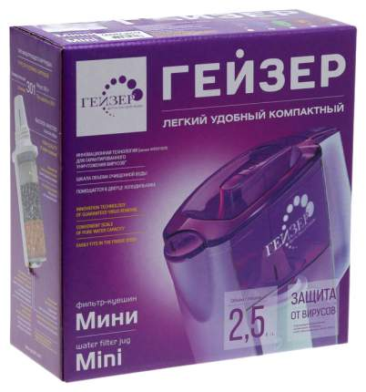 Фильтр-кувшин ГЕЙЗЕР 62046 Красный