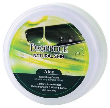 Крем для лица и тела Deoproce Natural Skin на основе экстракта сока алое 100 г