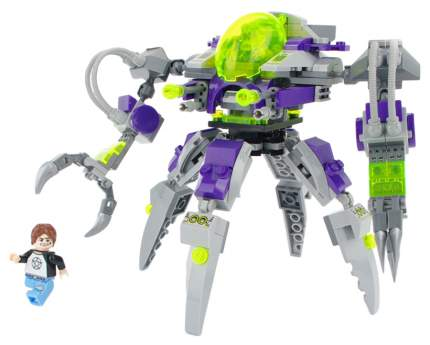 Конструктор пластиковый Brick Космическое приключение робот с фигурками 227 деталей 1605