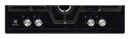 Встраиваемая варочная панель газовая Electrolux GME363NB Black
