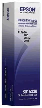 Картридж для матричного принтера Epson C13S015339BA, черный, оригинал