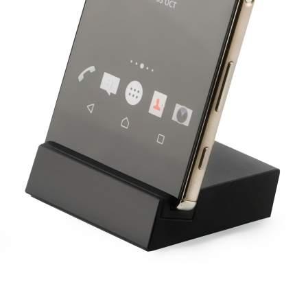 Док-станция Brosco Micro-USB, черная