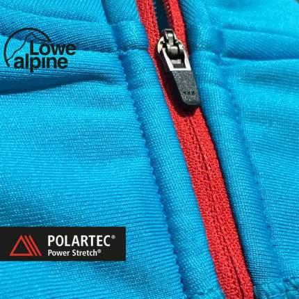Пулон Lowe Alpine Powerstretch Zip Top 2016 женский голубой, XL