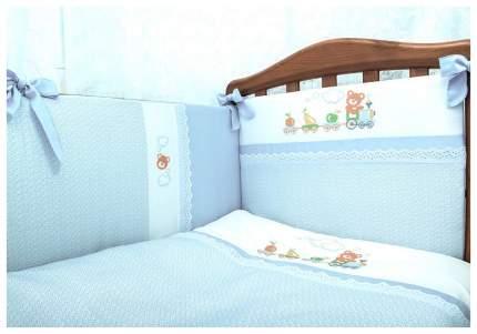 Комплект Паровозик голубой Сонный Гномик
