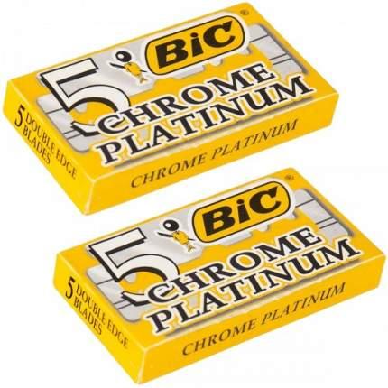 Сменные лезвия BIC CHROME PLATINUM 2 шт
