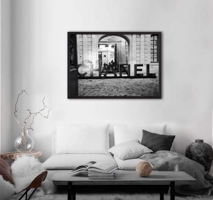 Постер в рамке Chanel 40 х 60 см Дом Корлеоне
