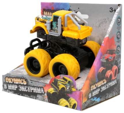 Машинка с краш-эффектом, желтая Funky Toys