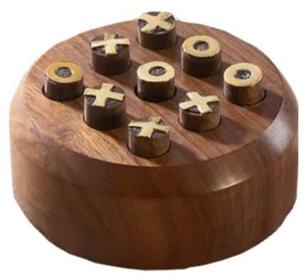 Игра Sima-Land Крестики-нолики дерево 10х10х4 см