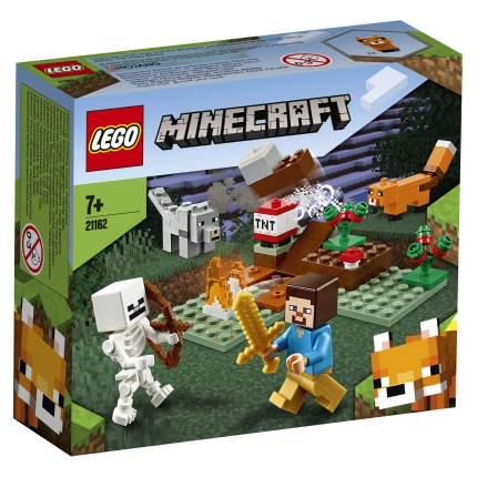 Конструктор LEGO Minecraft 21162 Приключения в тайге