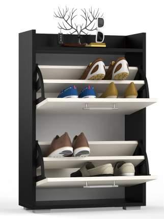 Обувница СВК L венге/дуб лоредо, 60х25х95,7 см.