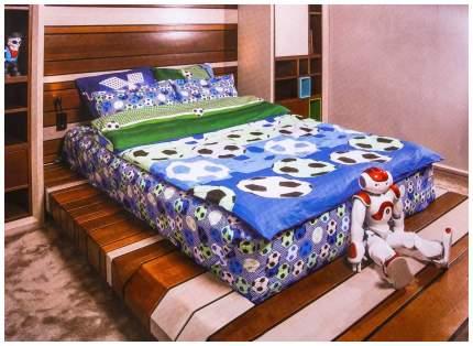 Комплект постельного белья Sima-Land Футбол Полутороспальный