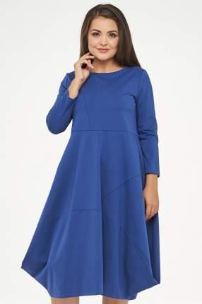 Платье женское VAY 182-3468 синее 46 RU