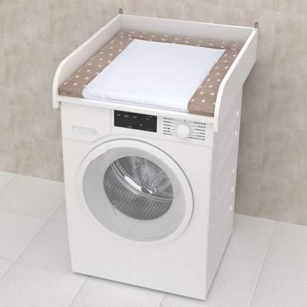 Рамка пеленальная для стиральной машины Polini kids Simple 600 белая