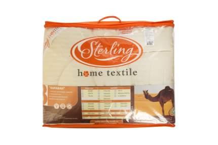 Одеяло Sterling Home Textile ВЕРБЛЮЖЬЯ ШЕРСТЬ Микрофибра 140x205, 1,5 спальное