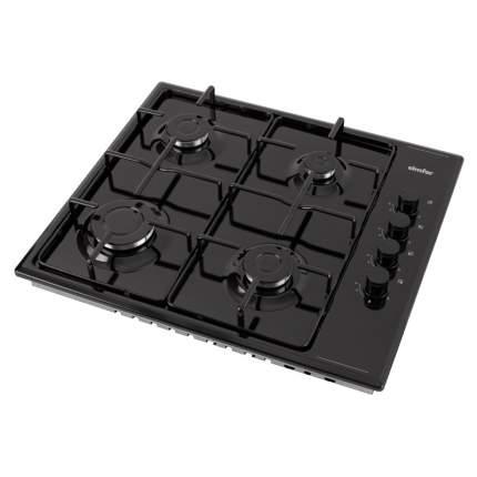 Встраиваемая варочная панель газовая Simfer H60Q40B400 Black
