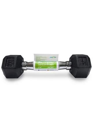 Гантель обрезиненная StarFit DB-301 1 кг