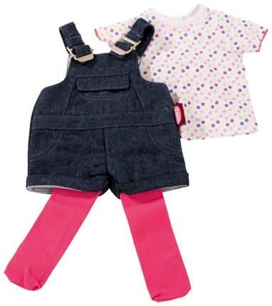 Набор одежды для кукол Gotz Джинсовый комбинезон на лямках, 45-50 см