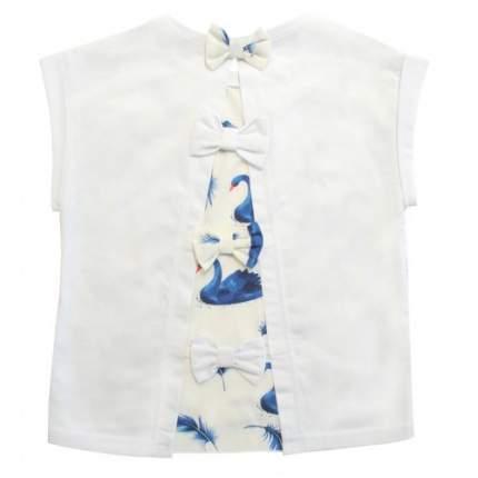 Блузка Лебеди Bon&Bon 581.2 синий Р.122
