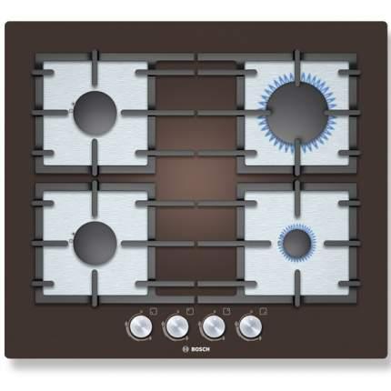 Встраиваемая варочная панель газовая Bosch PPP614B91R Black/Silver
