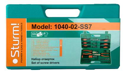 Набор инструмента Sturm! 1040-02-SS7