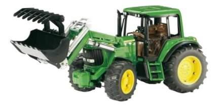 Трактор Bruder John deere 6920 с погрузчиком
