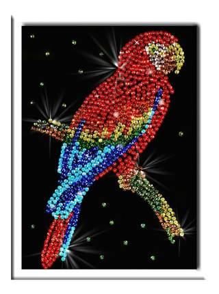 Мозаика из пайеток Волшебная мастерская Попугай какаду