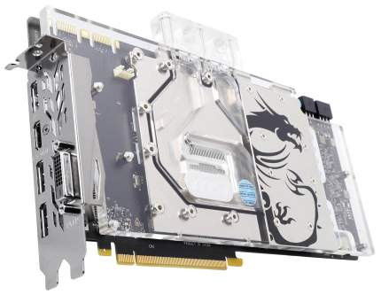 Видеокарта MSI nVidia GeForce GTX 1080 (GTX 1080 SEA HAWK EK X)