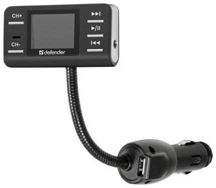 FM трансмиттер Defender RT-PRO MP3 USB SD MMC Пульт ДУ 83551