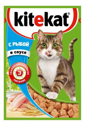 Влажный корм для кошек KiteKat, рыба, 24шт, 85г