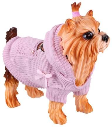 Попона, свитер для собак DEZZIE размер L женский, фиолетовый