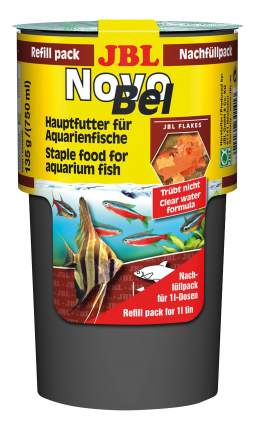 Корм для аквариумных рыб JBL NovoBel, хлопья, 750 мл