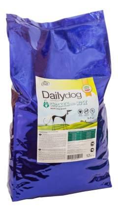 Сухой корм для собак Dailydog Adult Large Breed, для крупных пород, курица и рис, 12кг