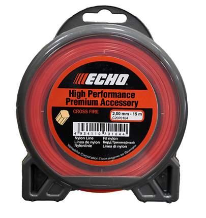 Леска для триммера Echo Cross Fire Line 2.0мм/15м (крест) (C2070104)