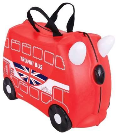 Чемодан на колесиках Trunki Автобус Красный (0186-GB01-P4)
