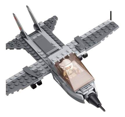 Конструктор пластиковый Sluban Военный самолет