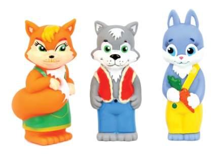 Игровой набор Затейники Лисичка, волк и зайка