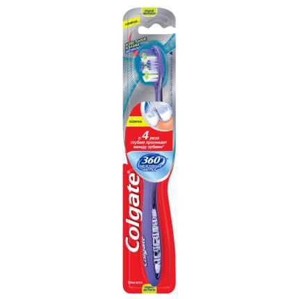 Зубная щетка Colgate 360 Межзубная чистка средняя