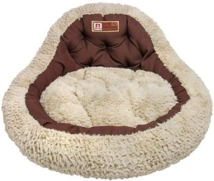 Лежанка для кошек и собак ЗООГУРМАН 45x45x20см коричневый
