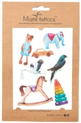 Акварельные переводные тату MIAMI TATTOOS Toys, МТ0014