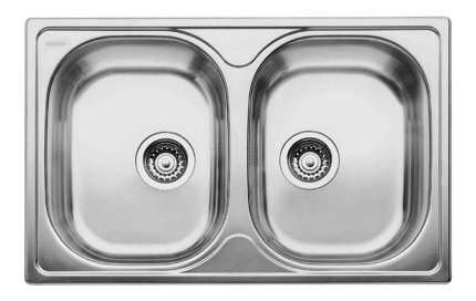 Мойка для кухни из нержавеющей стали Blanco TIPO 8 Compact 513459 серебристый