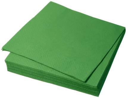 Бумажные салфетки H-Line трехслойные зеленые 33*33 см 250 штук