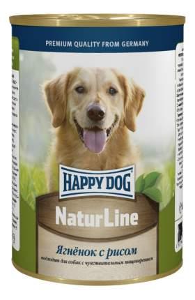 Консервы для собак Happy Dog NaturLine, ягненок, рис, 400г